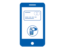Mobiles Bezahlen mit der digitalen girocard (Debitkarte) oder Kreditkarte